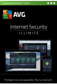 AVG Internet Security (2 ans, illimité)