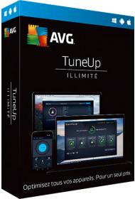 AVG TuneUp , 2 ans -  PC illimités