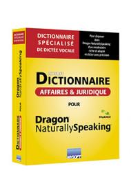 Dictionnaire Affaires et Juridique Mysoft pour Dragon Professional Group 15 (licence 1 locuteur)